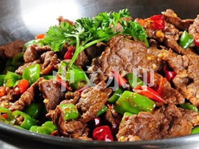 干锅香辣牛肉