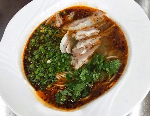 羊肉汤饸饹面